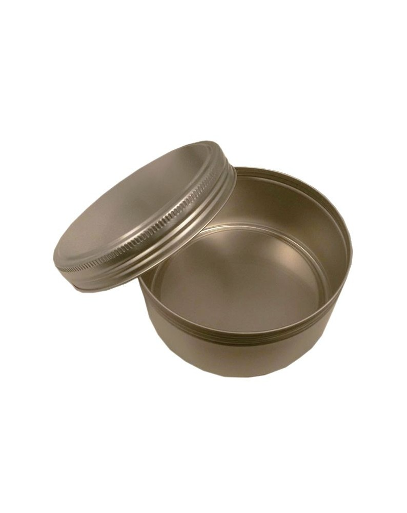 Aluminium screw lid tin - 92.8 x 42 mm - 250 ml
