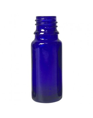 Cobalt Blue Glass Bottle 10ml, Din18