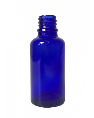 Cobalt Blue Glass Bottle 30ml, Din18