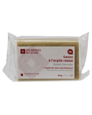 10. Red Montmorillonite Rassal Clay Soap