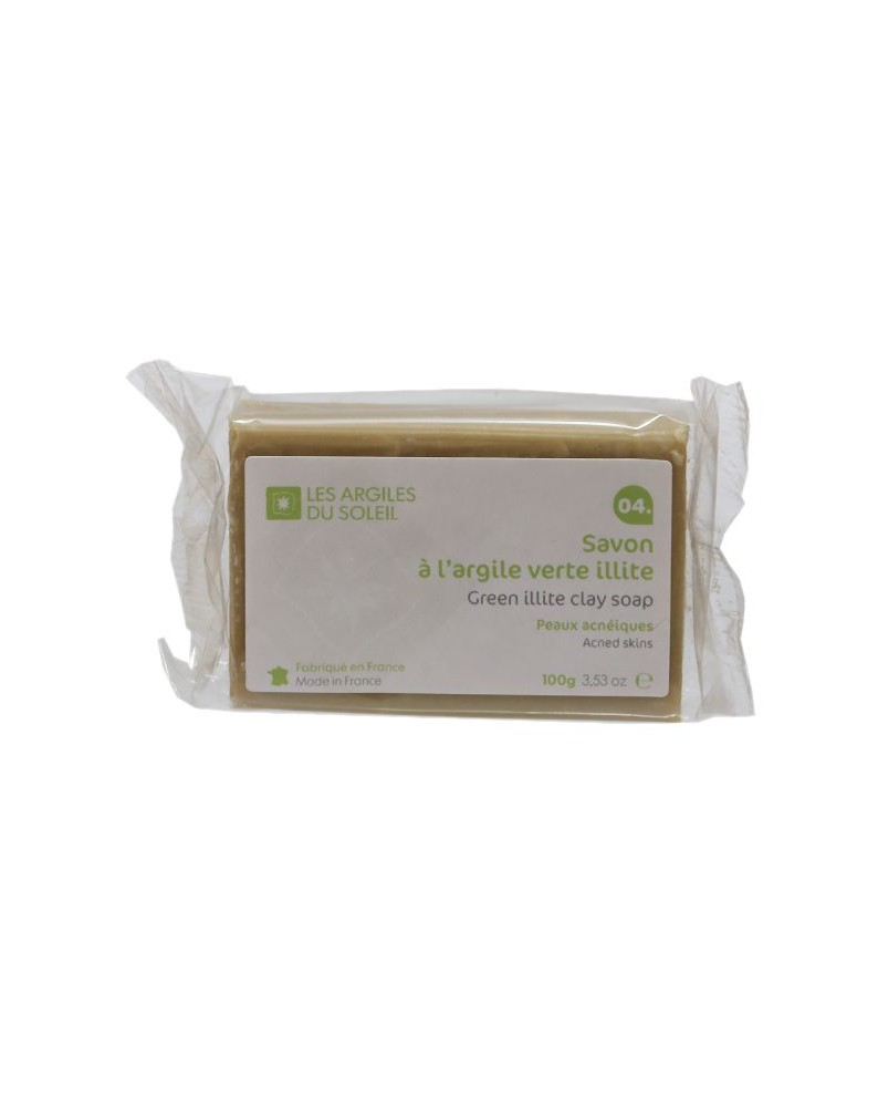 04. Green Illite Clay Soap