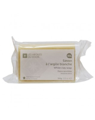 02. White Kaolin Clay Soap
