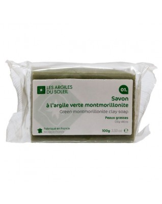 01. Green Montmorillonite Clay Soap