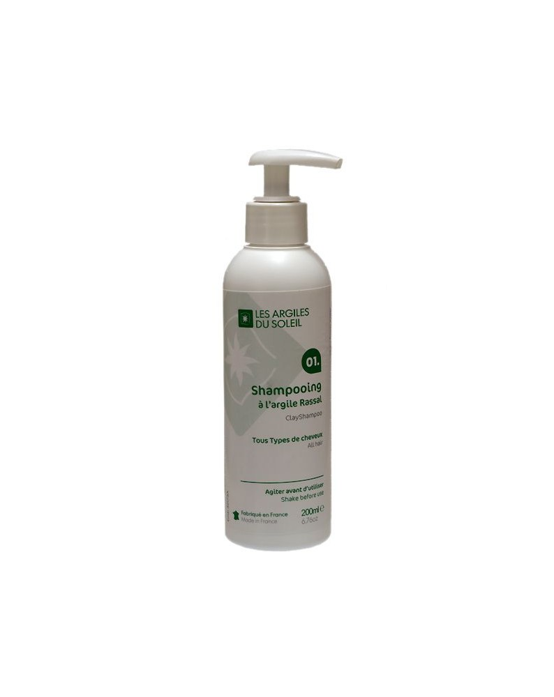 01. Red Montmorillonite Clay Shampoo Rassal