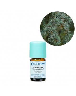 Cedarwood Atlas Essential Oil BIO (Cedrus Atlantica) - FLE022