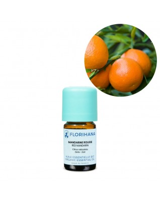 Mandarin Red Essential Oil BIO (Citrus Reticulata) - FLE052