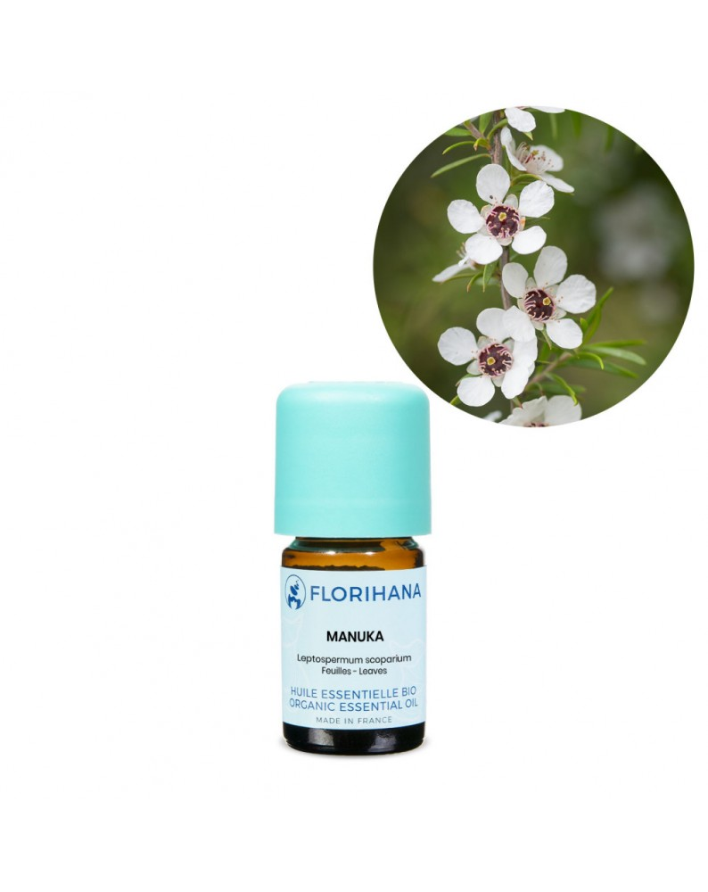 Manuka Essential Oil (Leptospermum Scoparium) - FLJ118