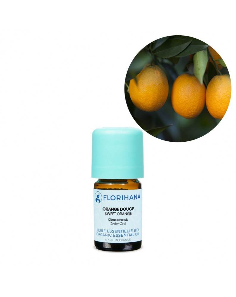 Orange Sweet Essential Oil BIO (Citrus Sinensis) - FLE064